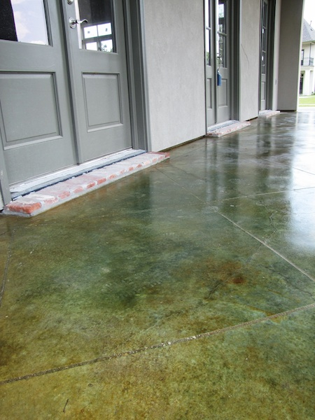 Nu Crete Designs Stained And Scored Concrete